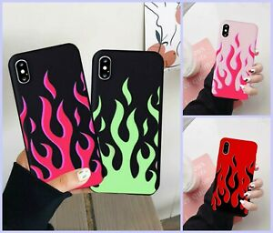 Fashion-Flame-Pattern-Phone-Case-For-iPhone-X-XS-MAX-11-Pro-7-8-6Plus-Red-Flames