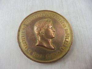 Ancienne-medaille-centenaire-de-l-039-empereur-Napoleon-I-1769-1869