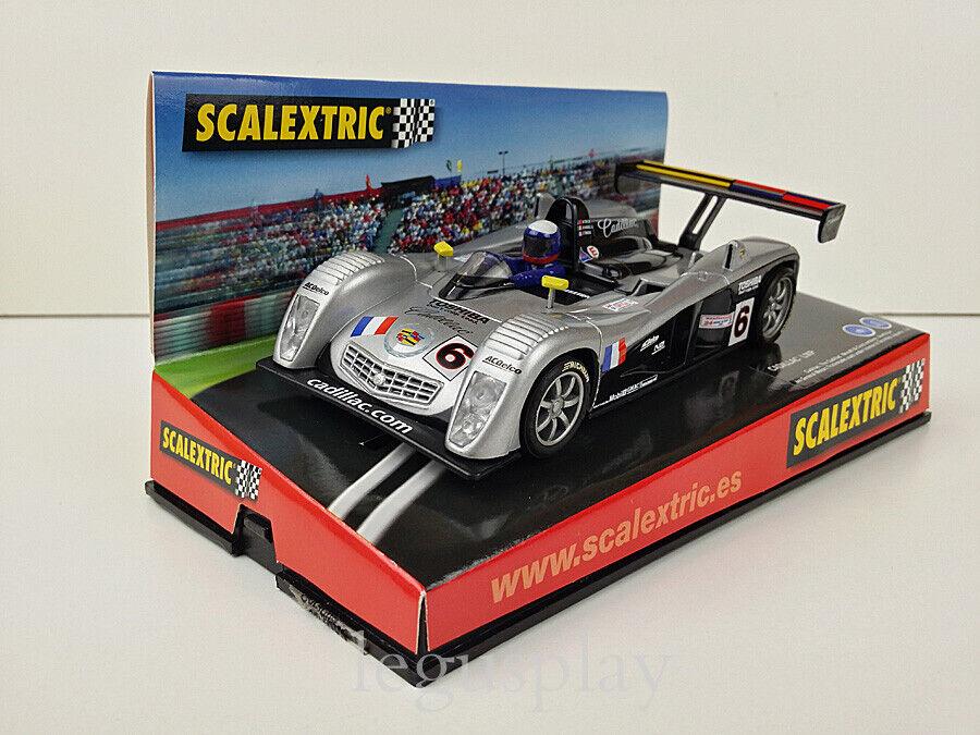 Slot Coche SCX Scalextric 6103 Cadillac LMP NorthEstrella  Le Mans 2001   6