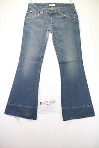 Lee-Lynn-Flare-Cod-E1239Tg45-W31-L33-vaqueros-usado-Talle-Alto-vintage-Pata