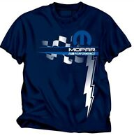Mopar Performance Navy Blue Cotton Tee Shirt