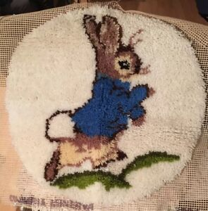 Hook Rug Beatrix Potter Peter Rabbit
