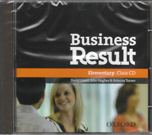Oxford-BUSINESS-RESULT-Elementary-Class-Audio-CD-BRAND-NEW