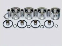 Full Set Of Piston With Ring Set Yanmar Komatsu 4d84e-3 4tnv84 Engine Excavator
