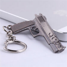New 6.5CM Cross Fire CF Miniature Revolver Pistol Weapon Metal Model Keychains