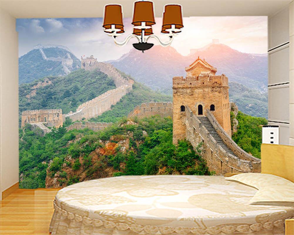 Magnificent Great Wall 3D Full Wall Mural Photo Wallpaper Print Home Kids Decor