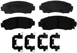 Disc Brake Pad Set-Ceramic Disc Brake Pad Front ACDelco Pro Brakes 17D1324CH