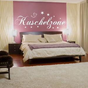 Wandtattoo Schlafzimmer Wand-Tattoo Kuschelzone Kinderzimmer Deko ...