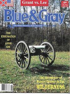 Blue & Gray Ju95  V12N5 CivilWar Exhumation Annie Lee Wilderness Campaign CSA