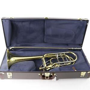 Bach-Model-50AF3-Stradivarius-Professional-Bass-Trombone-SN-208044-OPEN-BOX