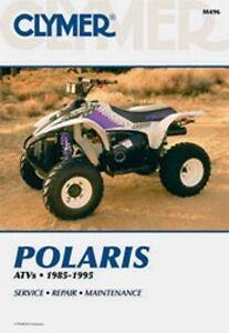 clymer repair service manual polaris big boss 250 4x6 6x6 300 350 rh ebay com polaris big boss repair manual polaris big boss 4x6 manual