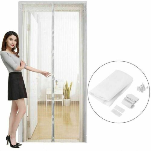 Anti Mosquito Curtains Insect Fly Bug Automatic Magnetic Mesh Net Door Screen