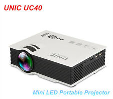 UNIC UC40 Projector Mini Pico portable protector AV USB & SD With HDMI Projector