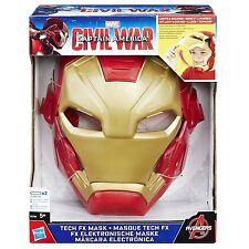 Marvel Captain America Civil War - Iron Man Tech FX Mask *BRAND NEW*