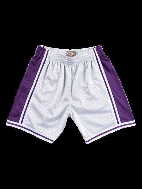 Adidas Los Angeles Lakers Hollywood Nights Swingman Shorts Sz S For Sale Online Ebay