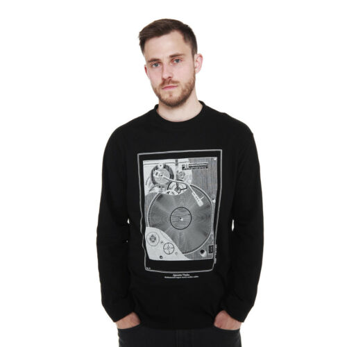 HHV Apparatus Vinylus Longsleeve Black Langarm Shirt