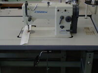 Consew 2053r-1 Complete With Knock Down Stand & 3/4hp Servo Motor