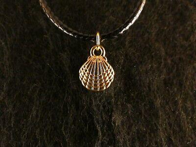 ocean tiere charme weißer hai gold silber vergoldet anhänger halskette