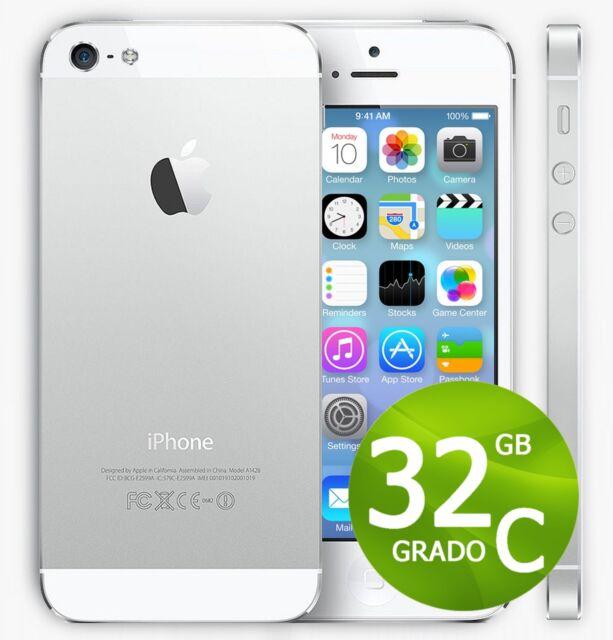 APPLE IPHONE 5 32GB BIANCO + ACCESSORI + GARANZIA 12 MESI - RICONDIZIONATO 5G