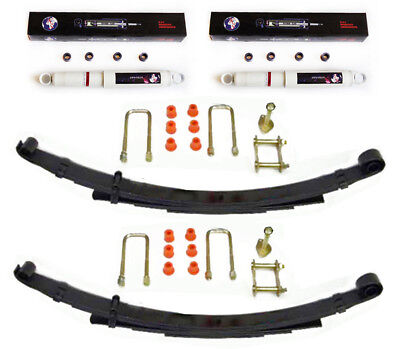 Suspension Kit Rear For Toyota Hilux Surf KZN130 3.0TD 93-95 Shocks+Springs