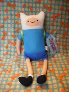 ADVENTURE-TIME-Cartoon-Network-034-Finn-034-soft-toy-12-034-approx-with-tag-VGC