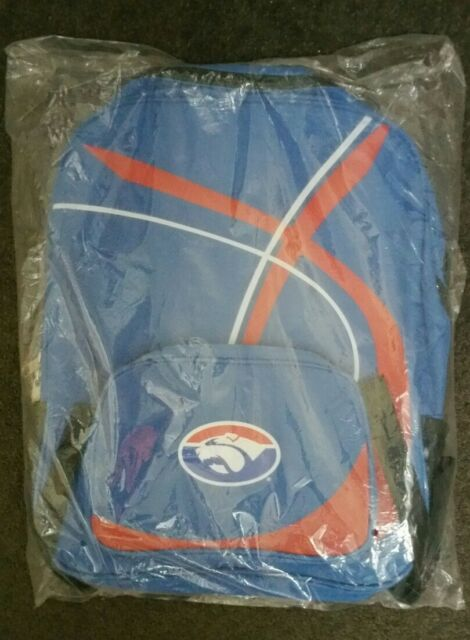Western Bulldogs  Official AFL Backpack, School bag, Gym Bag