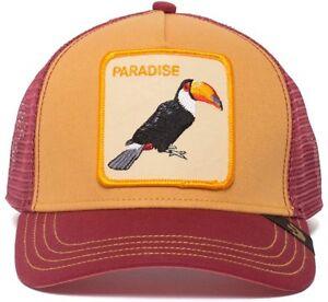 437fe005734e3 Goorin Bros Animal Farm Trucker Baseball Hat Cap Toucan Tropical ...