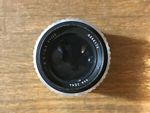 Vintage-Carl-Zeiss-Jena-1-3-5-135-Kamera-Objektiv-8244174-Made-in-Germany-East