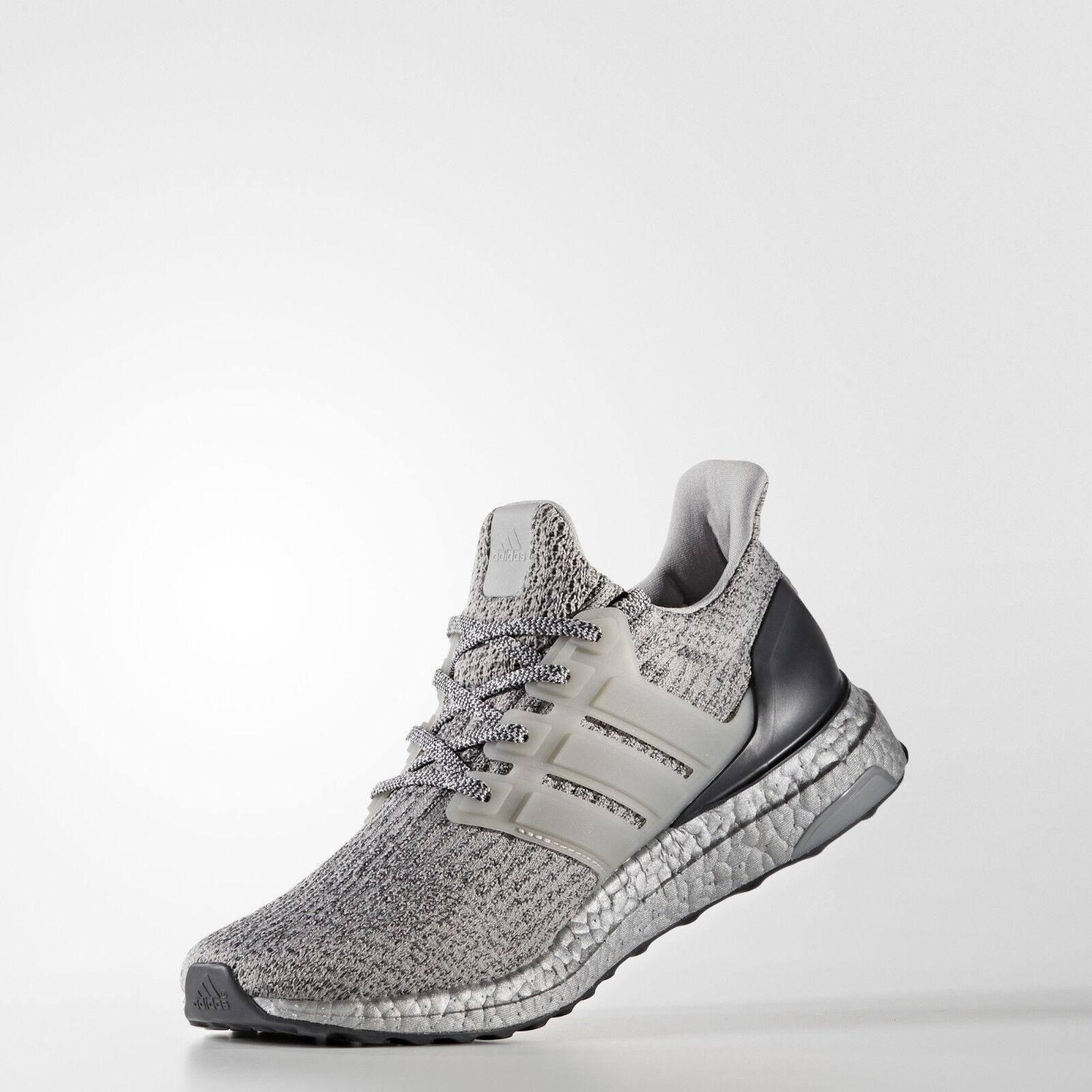 adidas Mens Running Ultra Boost Silver Super Bowl Running Mens Shoes BA8143 UltraBOOST befff0