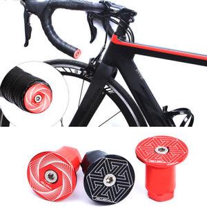 Road-Bike-Handlebar-Ends-Bicycle-Grip-Ends-Caps-Racing-Road-Bicycle-Bar-Plugs