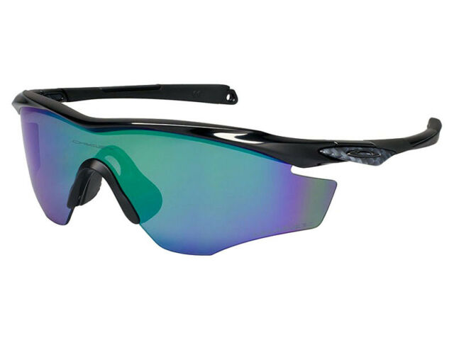 6e4ae09f5 Oakley M2 Frame Polarized Sunglasses OO9212-08 Polished Black/Jade Iridium