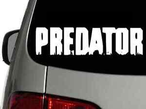 Predator Movie Logo Vinyl Decal Sticker High Quality