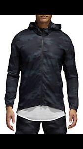 Adidas-Mens-TKO-Jacket-Mens-Camoflauge-Camo-Black-CF2905-XL