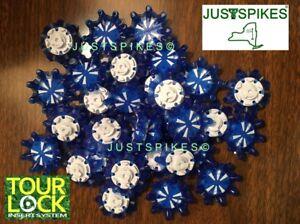 bf666543cdd323 14 New BLUE PULSAR Tour Lock Fast Twist Golf Spikes Cleats ...