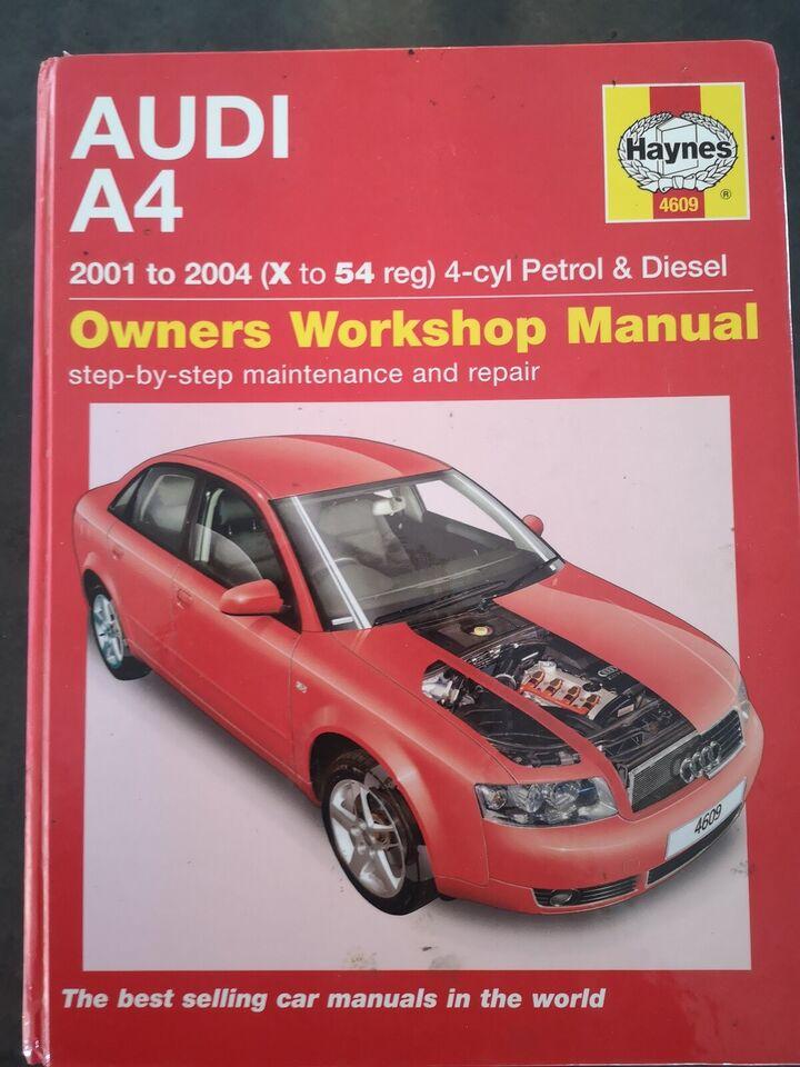 Reparationsmanual, Audi A4, B6