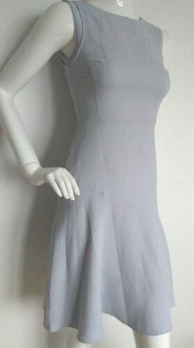 di Designer Reiss Nuovo Lunghezza Yuki 4 Fazzoletto blu Abito Hem ginocchio taglia zecca wSFpw