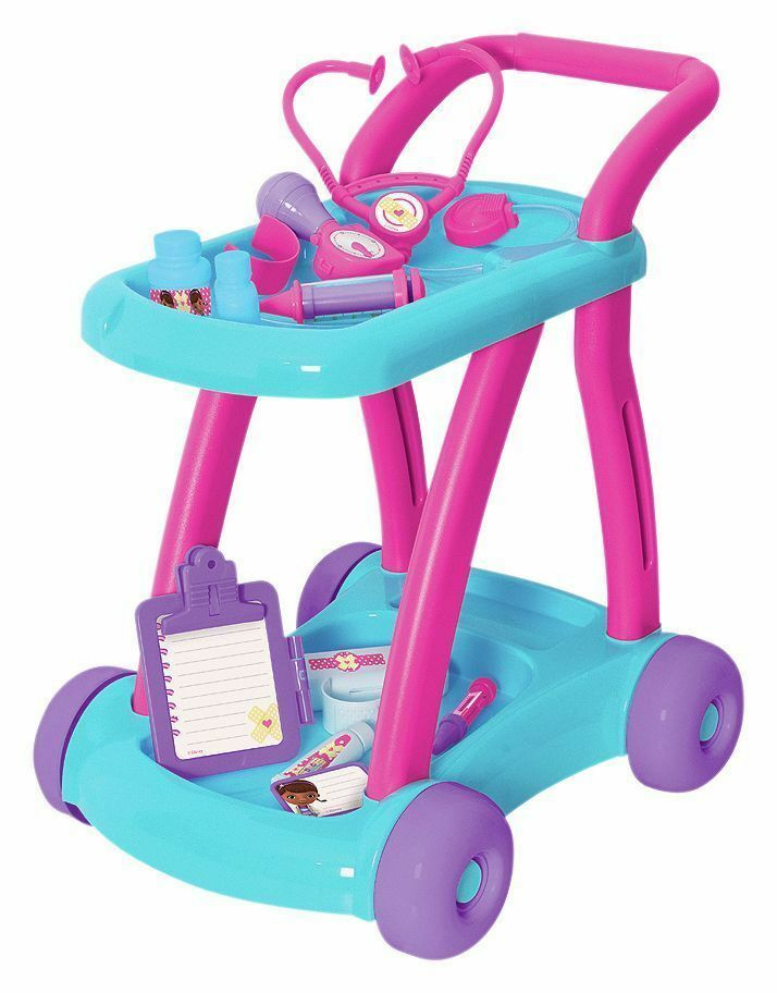 Doc McStuffins Push Along Doctors Trolley.