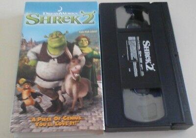 Shrek 2 Vhs 678149087437 Ebay