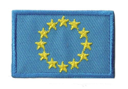 Stemma Termoadesiva Europa Unione Europea Toppa Piccolo 45x30mm
