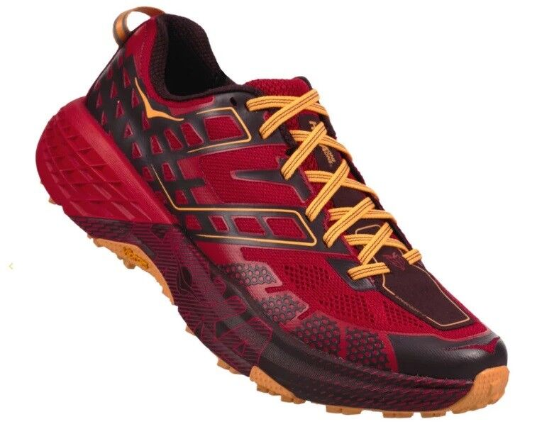 shoes Trail Running Montagna HOKA ONE ONE SPEEDGOAT 2 Winetasting  Haute Red  fast delivery and free shipping on all orders