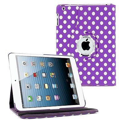 360 Folding Leather Case Skin Cover for Mini 1 2 3 4 iPad 2 3 4 Air 5th Air 2 6
