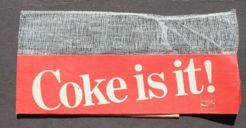 Coke Is It Vintage Rare Coca Cola Soda Pop Advertising Soda Jerk Hat