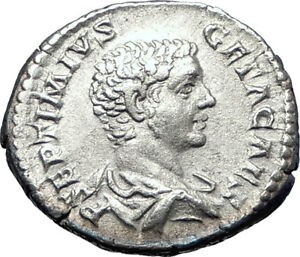 GETA-sacrificing-over-altar-208AD-Authentic-Silver-Ancient-Roman-Coin-i73590