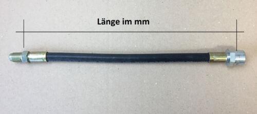Bremsschlauch 390 mm Innen-//Außengewinde M12x1 passend zu  Unimog 404