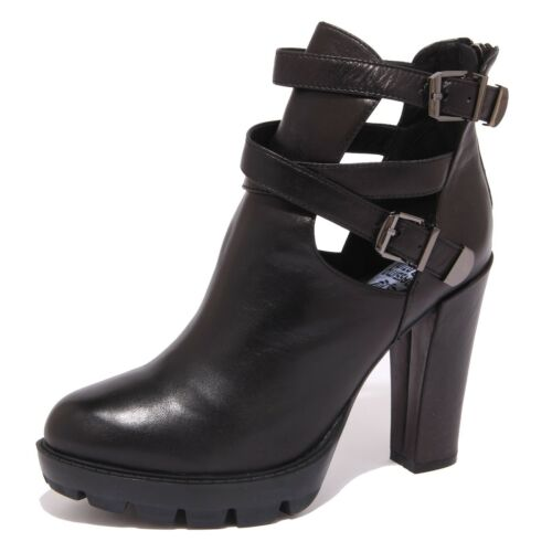 Women Tronchetto Donna 8633p Santini Shoe Nero Massimo Stivaletto xfvvaw0