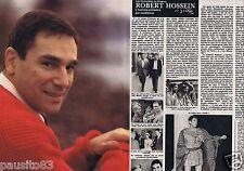 Coupure de presse Clipping 1981 Robert Hossein  (4 pages) 1