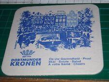 sottobicchiere beer mats birra bierdeckel dortmunder kronen amsterdam