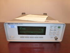 HP Agilent 86120B 700 - 1650 nm Multi-Wavelength Meter - CALIBRATED!