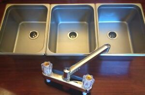 Large-3-Compartment-Sink-Set-For-Portable-Concession-Sinks-Food-Trucks