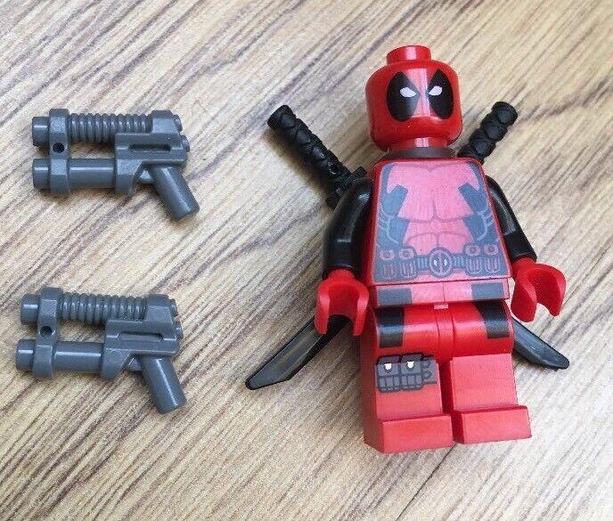 LEGO RARE MARVEL SUPERHEROES X-MEN DEADPOOL MINIFIGURE 6866